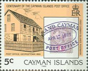 [The 100th Anniversary of the Cayman Islands Post Office, Typ SG]
