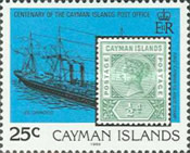 [The 100th Anniversary of the Cayman Islands Post Office, Typ SH]
