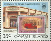 [The 100th Anniversary of the Cayman Islands Post Office, Typ SI]