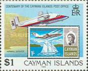 [The 100th Anniversary of the Cayman Islands Post Office, Typ SJ]