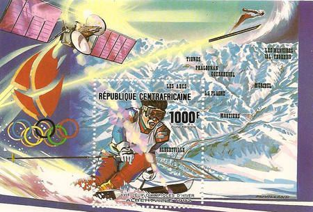 [Airmail - Winter Olympic Games - Albertville '92, France, type ]