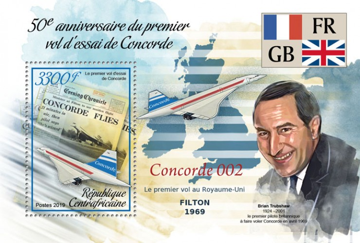 [The 50th Anniversary of the First Test Flight of Concorde, Typ ]