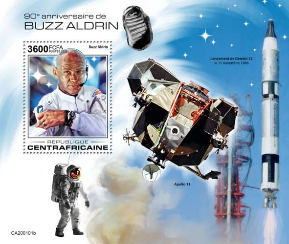 [The 90th Anniversary of the Birth of Buzz Aldrin, type ]