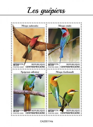 [Birds - Bee-Eeaters, type ]