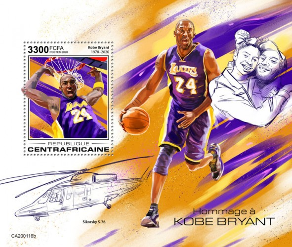 [Tribute to Kobe Bryant, 1978-2020, type ]