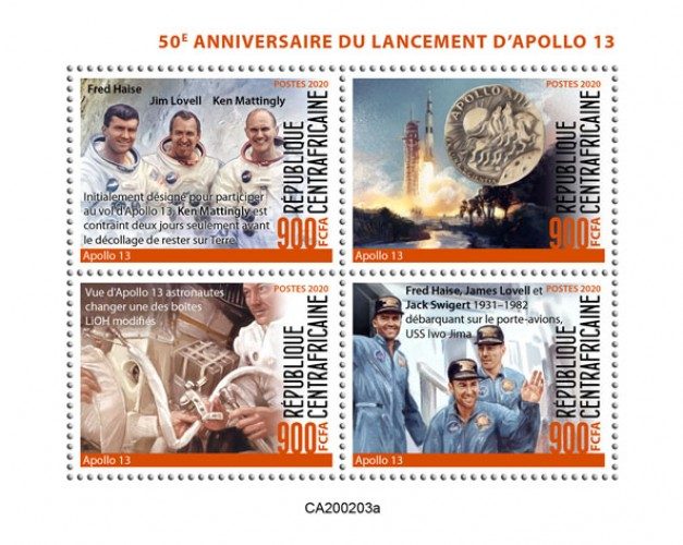 [The 50th Anniversary of the Launch of Apollo 13, type ]