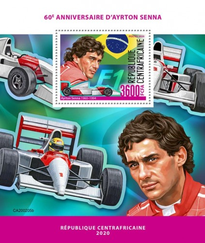 [The 60th Anniversary of the Birth of Ayrton Senna, 1960-1994, type ]