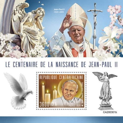 [The 100th Anniversary of the Birth of Pope John Paul II, 1920-2005, type ]