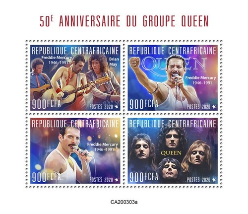 [The 50th Anniversary of the Band Queen, type ]