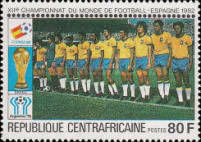 [Football World Cup - Spain 1982, type AAM]