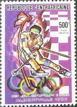 [Airmail - Winter Olympic Games - Albertville '92, France, type BBH]