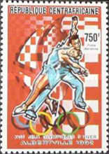 [Airmail - Winter Olympic Games - Albertville '92, France, type BBI]
