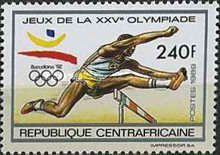 [Olympic Games - Barcelona, Spain (1992), type BCA]