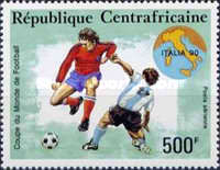 [Airmail - Football World Cup - Italy, type BCG]