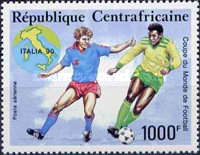 [Airmail - Football World Cup - Italy, type BCH]