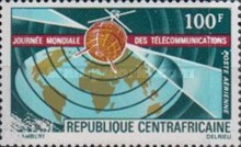 [Airmail - World Telecommunications Day, type IE]