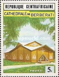 [Consecration of Roman Catholic Cathedral, Berberati, type IF]