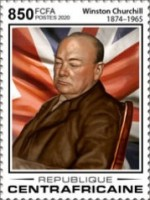 [The 55th Anniversary of the Death of Winston Churchill, 1874-1965, Typ MJO]