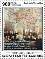 [The 100th Anniversary of the Treaty of Versailles, Typ MJR]