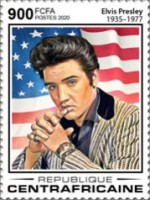 [The 85th Anniversary of the Birth of Elvis Presley, 1935-1977, Typ MKB]