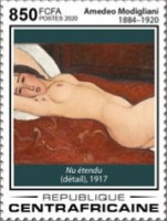 [The 100th Anniversary of the Death of Amedeo Modigliani, 1884-1920, Typ MKI]