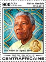 [The 30th Anniversary from the Releases of Prison of Nelson Mandela, 1918-2013, Typ MKM]