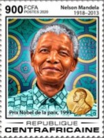 [The 30th Anniversary from the Releases of Prison of Nelson Mandela, 1918-2013, Typ MKN]