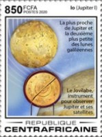 [The 410th Anniversary of the First Observation of Four Galilean Moons, by Galileo Galilei, 1564-1642, Typ MKQ]