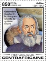 [The 410th Anniversary of the First Observation of Four Galilean Moons, by Galileo Galilei, 1564-1642, Typ MKS]