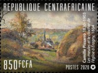 [The 190th Anniversary of the Birth of Camille Pissarro, 1830-1930, type MPT]