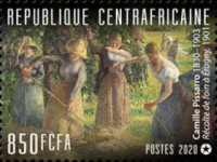 [The 190th Anniversary of the Birth of Camille Pissarro, 1830-1930, type MPU]