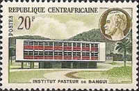 [Opening of Pasteur Institute, Bangui, type Q]