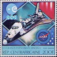 [Airmail - Space Exploration, type YR]