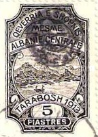 [Not Issued Albanian Postage Stamps from 1913 Overprinted, tyyppi B6]