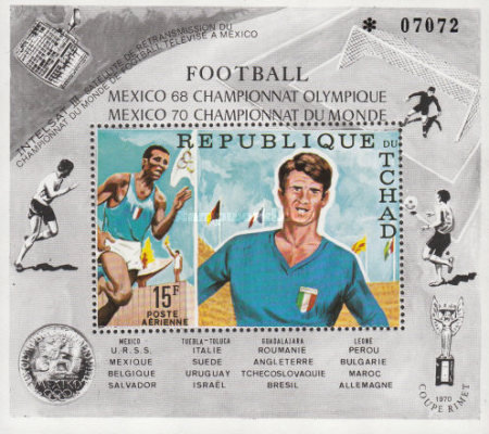 [Olympic Football Tournament and the Football World Cup in Mexico, type ]