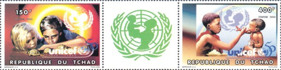 [The 50th Anniversary of UNICEF, type ]