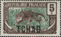 [Middle Congo Types Overprinted