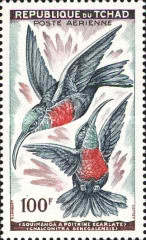[Airmail - Birds, type AD]
