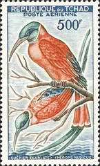 [Airmail - Birds, type AG]