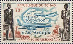 "[Airmail - ""Air Afrique"" Airline, type AH]"