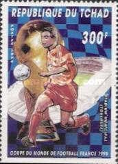 [Football World Cup - France 1998, type AKV]