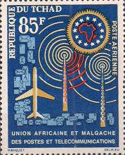 [Airmail - African and Malagasy Posts and Telecommunications Union, type AP]
