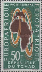 [Airmail - European-African Economic Convention, type AT]