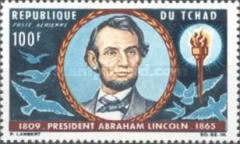 [Airmail - The 100th Anniversary of the Death of Abraham Lincoln, 1809-1865, type CF]