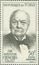[Airmail - Winston Churchill Commemoration, type CM]