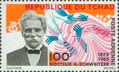[Airmail - Albert Schweitzer Commemoration, type CN]