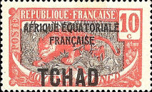 "[Overprinted ""AFRIQUE EQUATORIALE FRANCAISE"" - New Colors & Values, type D19]"