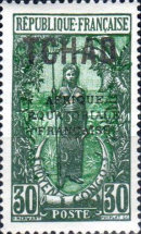 "[Overprinted ""AFRIQUE EQUATORIALE FRANCAISE"" - New Colors & Values, type D21]"