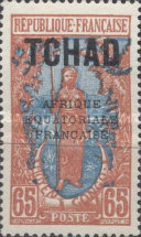 "[Overprinted ""AFRIQUE EQUATORIALE FRANCAISE"" - New Colors & Values, type D23]"