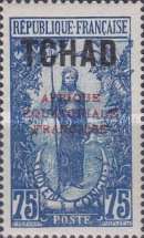 "[Overprinted ""AFRIQUE EQUATORIALE FRANCAISE"" - New Colors & Values, type D24]"
